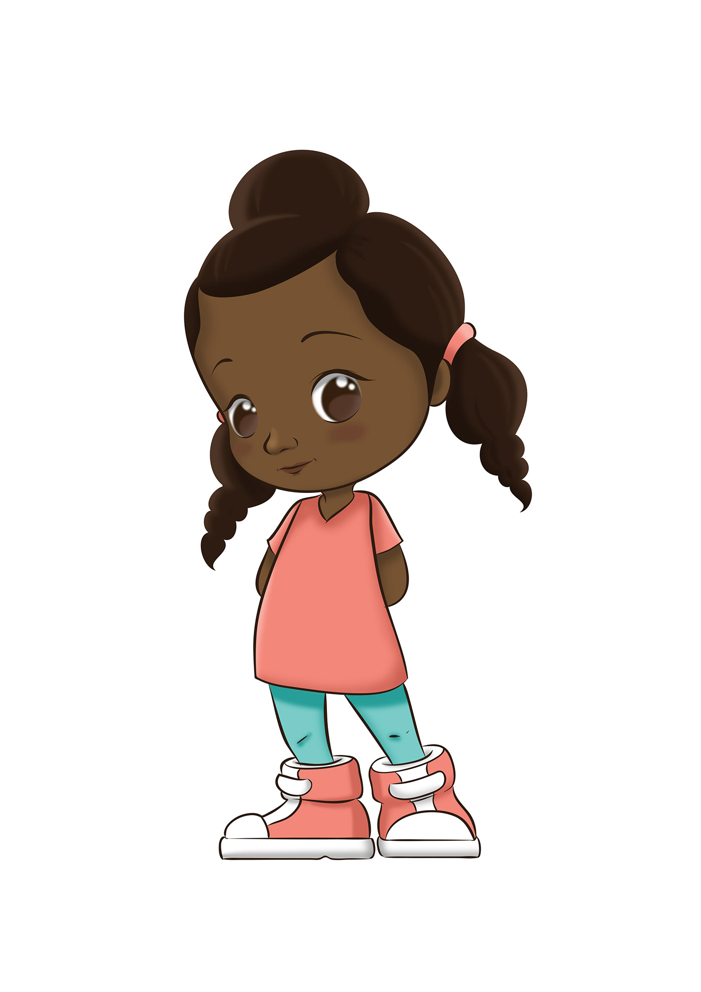 art black character cartoon Character children book coloring book illustrated illustrations Illustrator Paintings portraits Wayne Flint