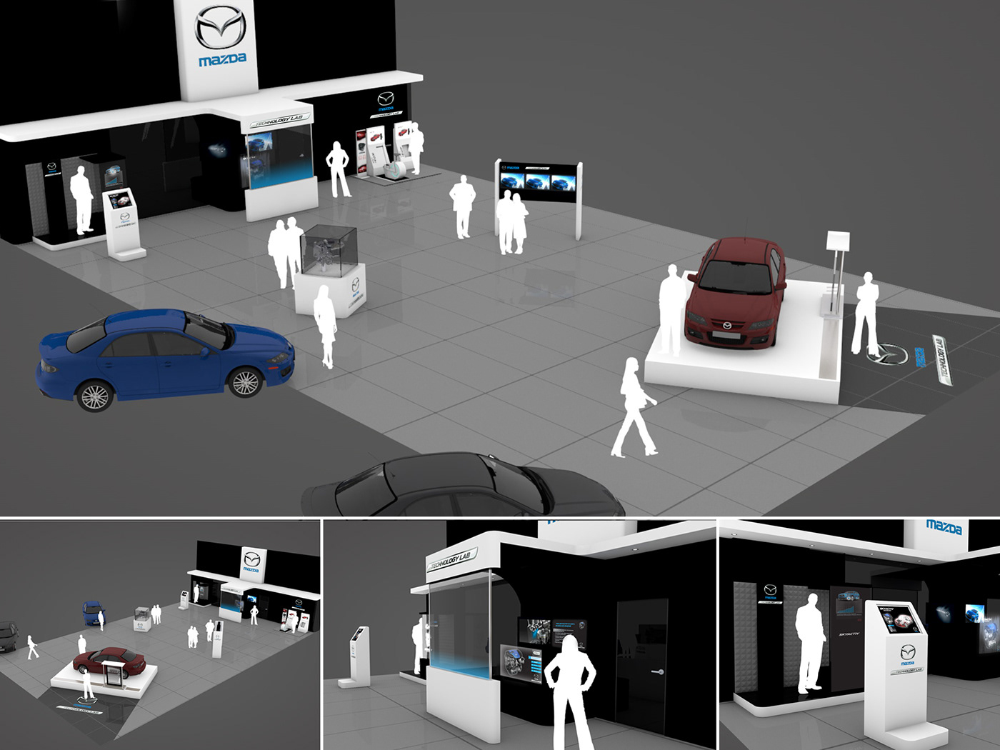 mazda car Technology Laboratoire