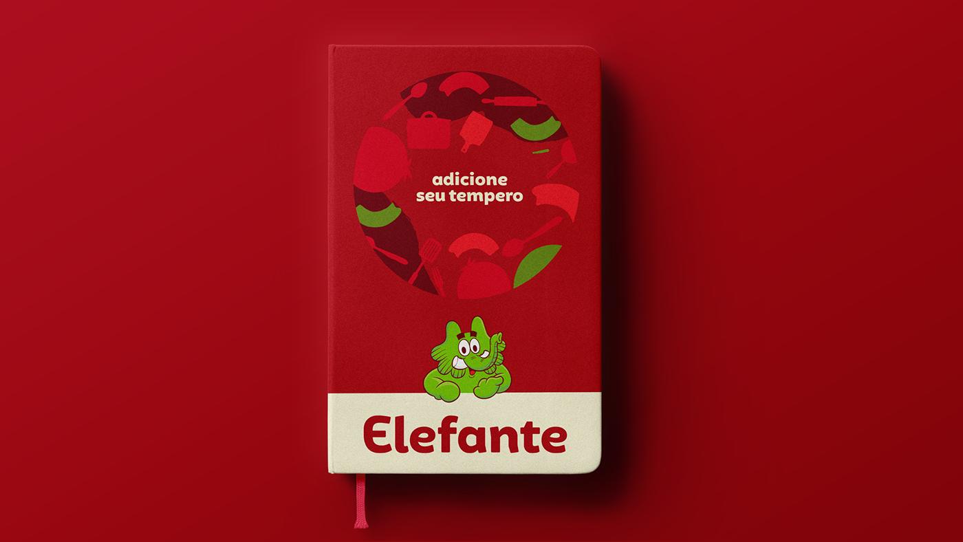 elefante extrato Tomato red sauce flavor taste elephant jotalhao Molho