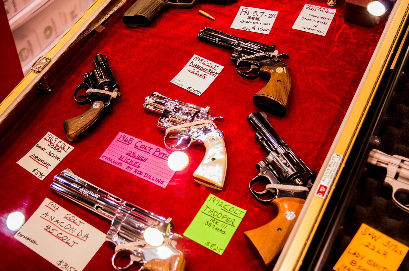 Shiny Revolvers.