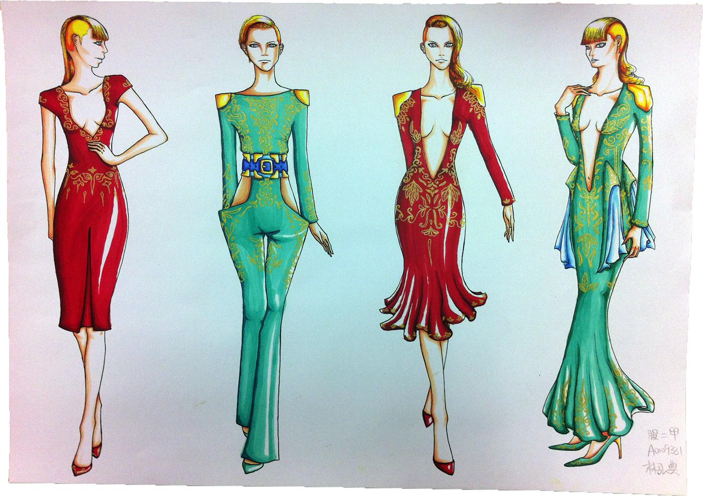 有獨特感的35個衣服設計圖欣賞