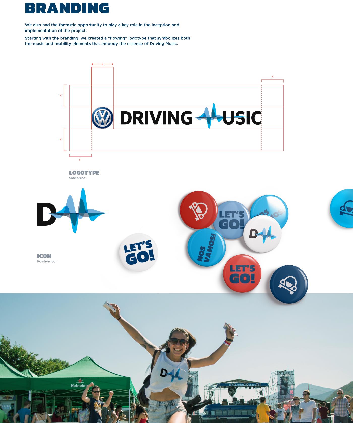 Experience festival environment wireframe development Interface car Responsive match social