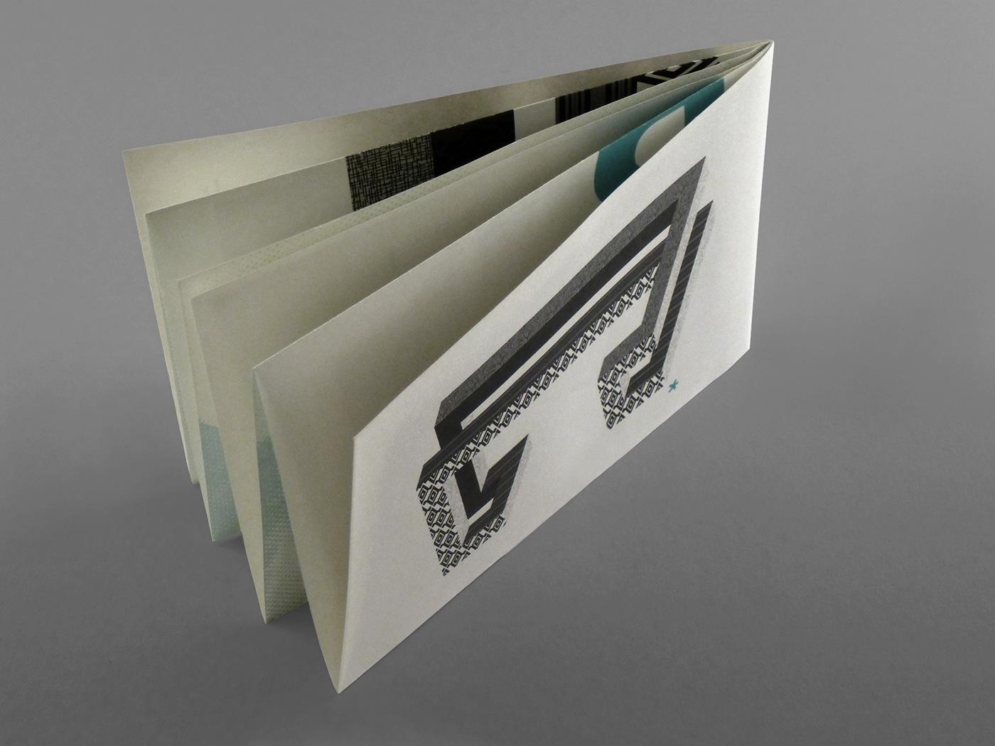 portfolio sample personal souvenir mail leaflet poster
