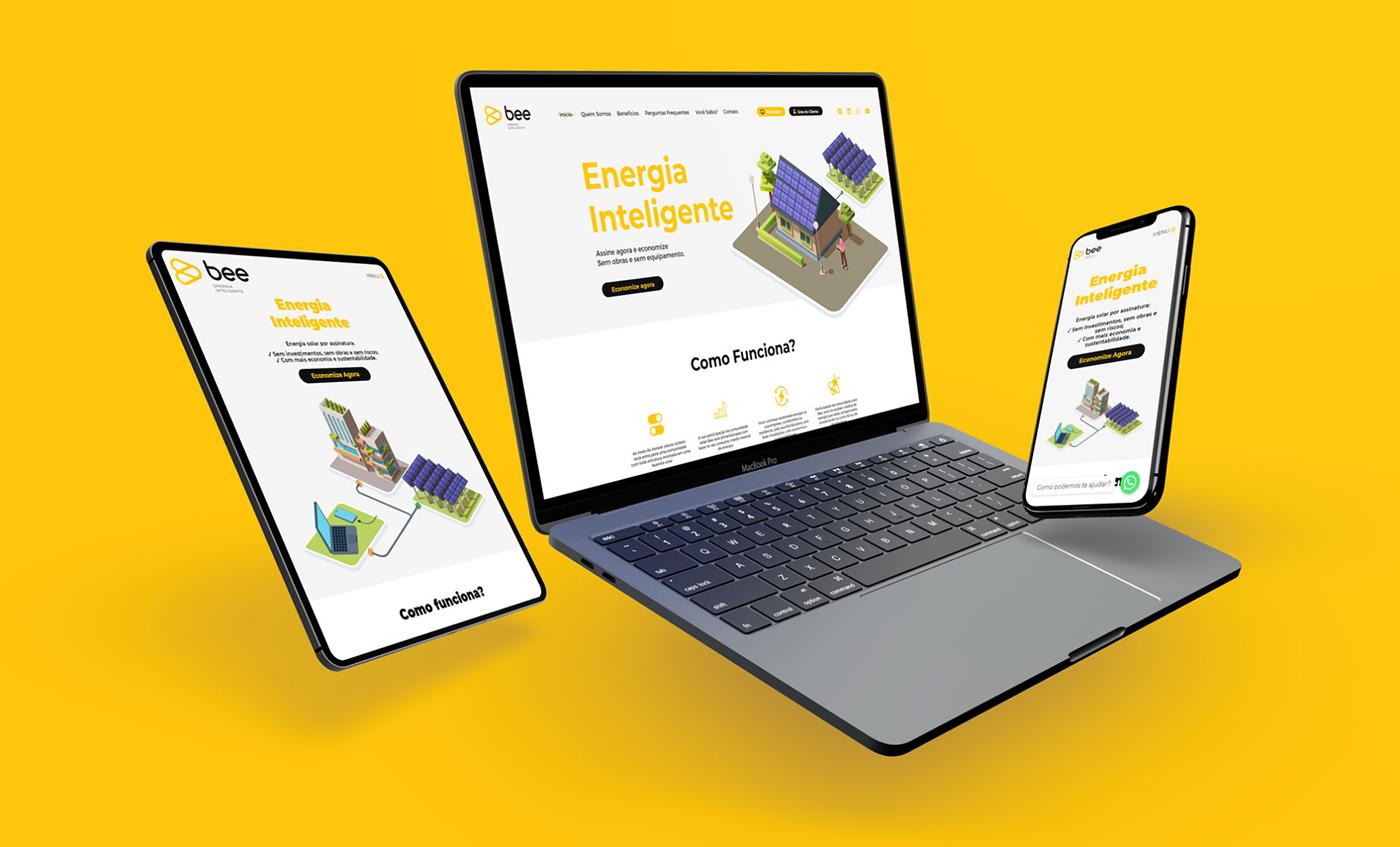 Renewable Energy Solar energy UI ui design user interface ux Webdesign Website wordpress