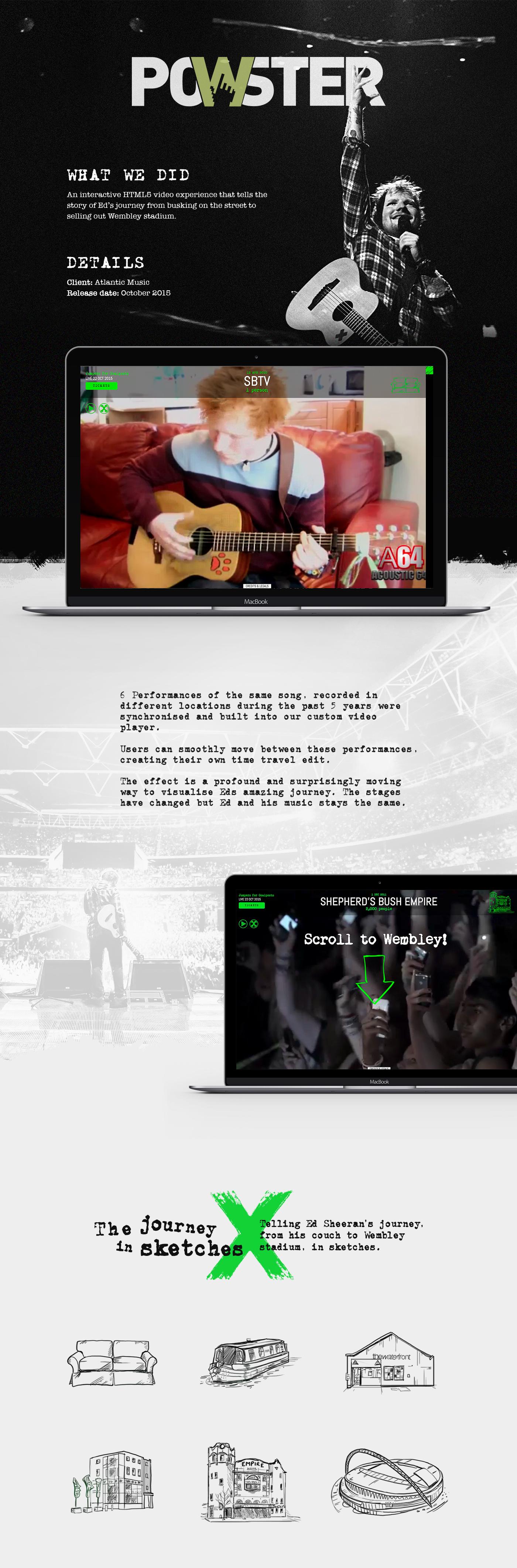 ed sheeran Wembley gig Website atlantic movie website