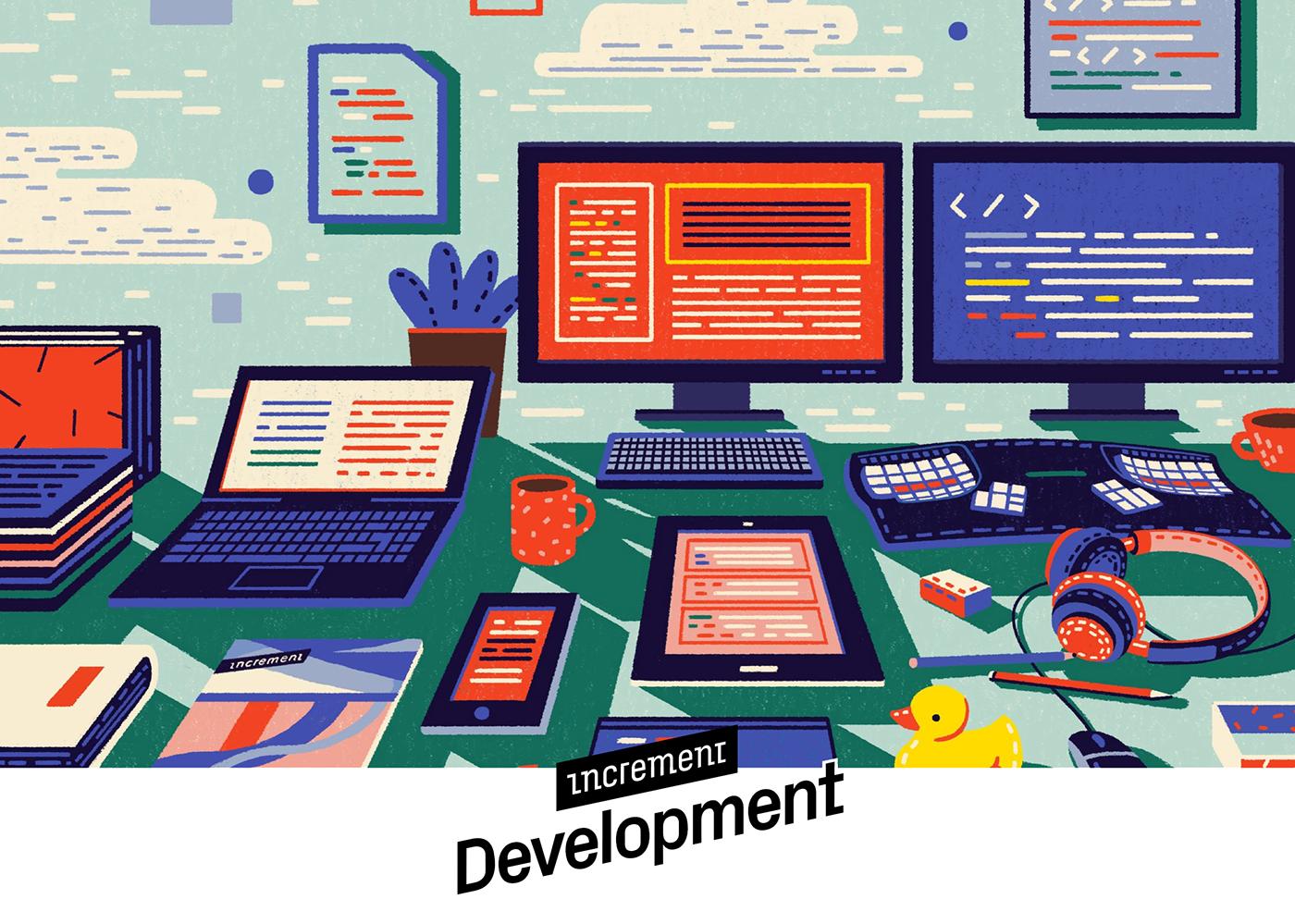 Developers Web Technology coding programming  geometry pattern Work  company