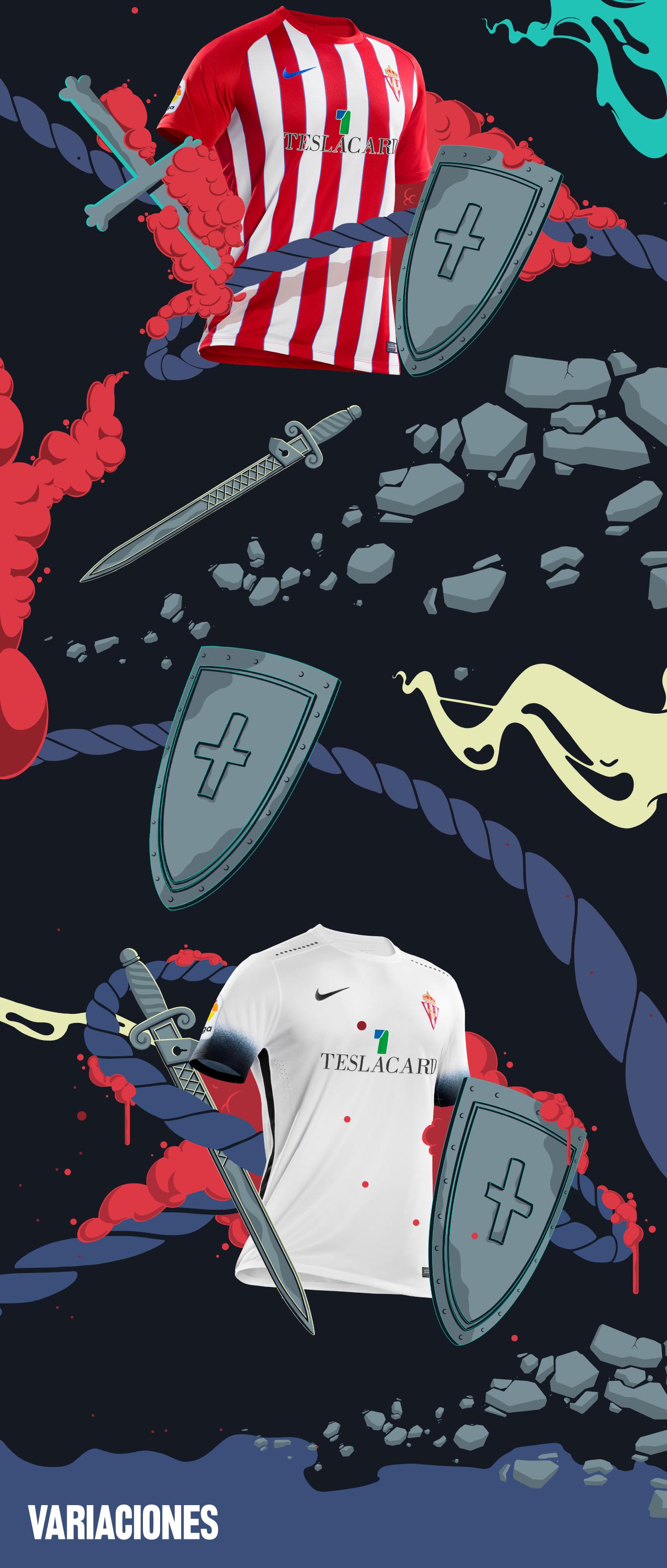 football explosion sport spain soccer Retail Sword fluid shield