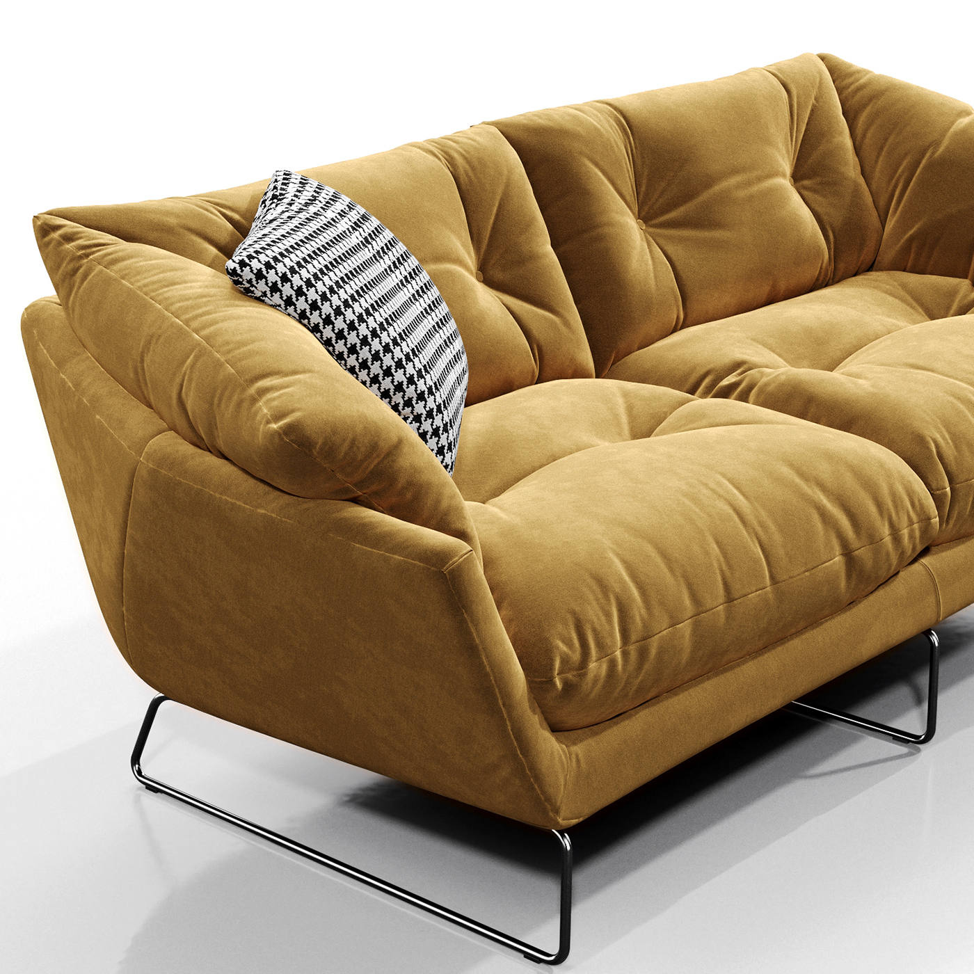 3D MODEL Saba Italia New York Suite Sofa On Behance