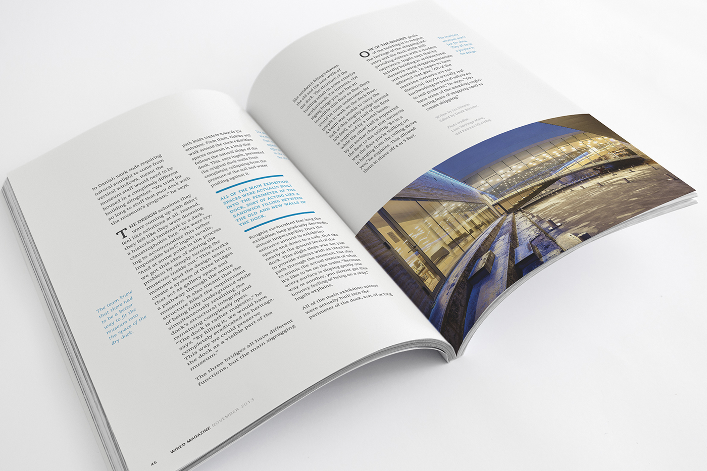 Wired Magazine (Rebrand and editorial spread) on Behance