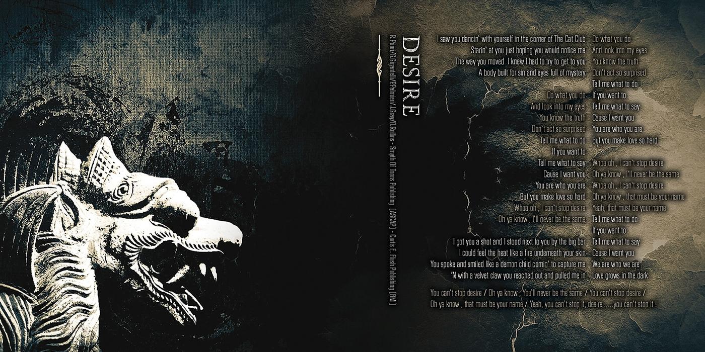 danger zone  undying music artworks artworks cd music artwork CD graphics music graphics flush design
