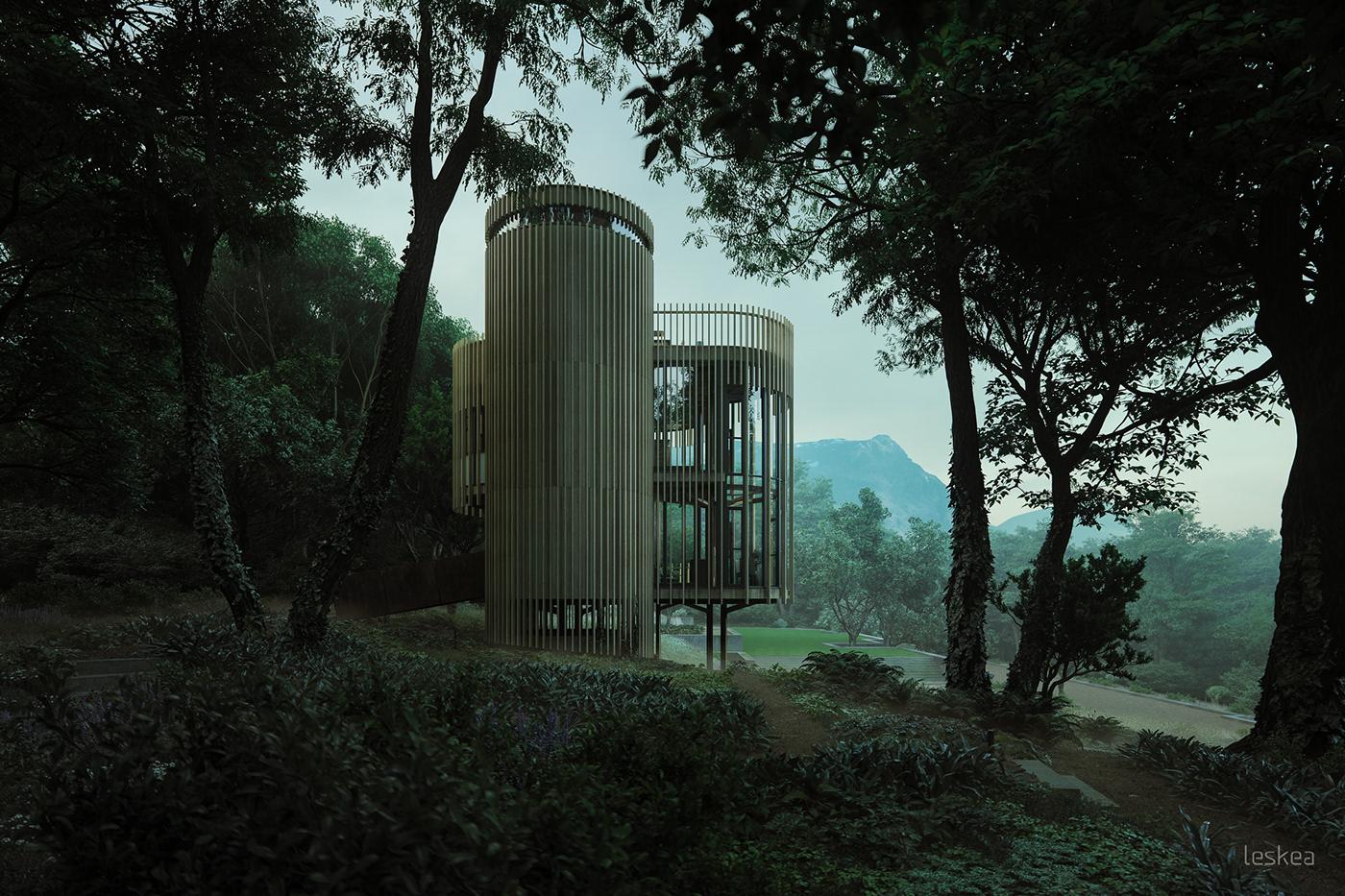 leskea architecture visualisation