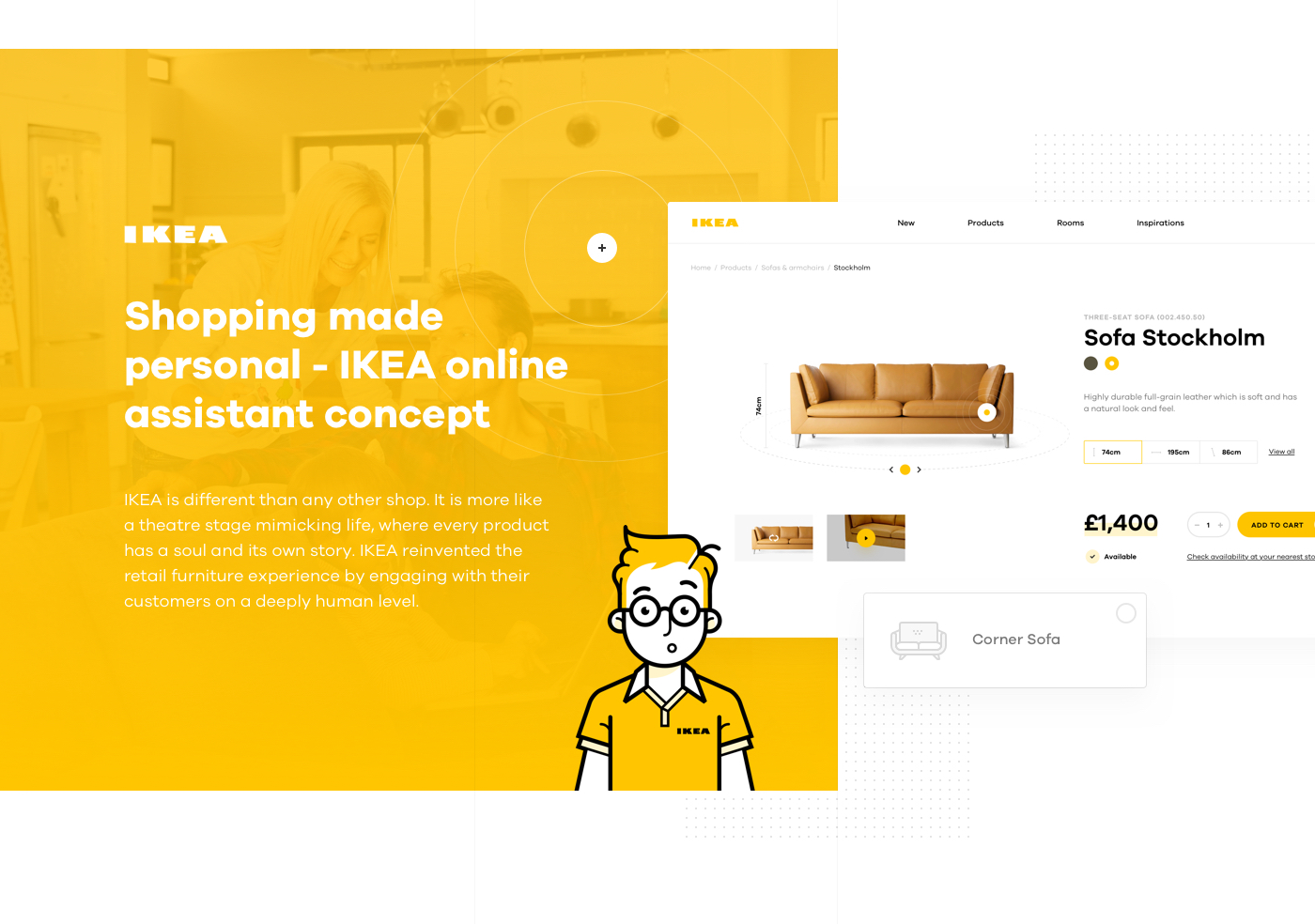 shopping made personal ikea online experience concept on behance. Black Bedroom Furniture Sets. Home Design Ideas