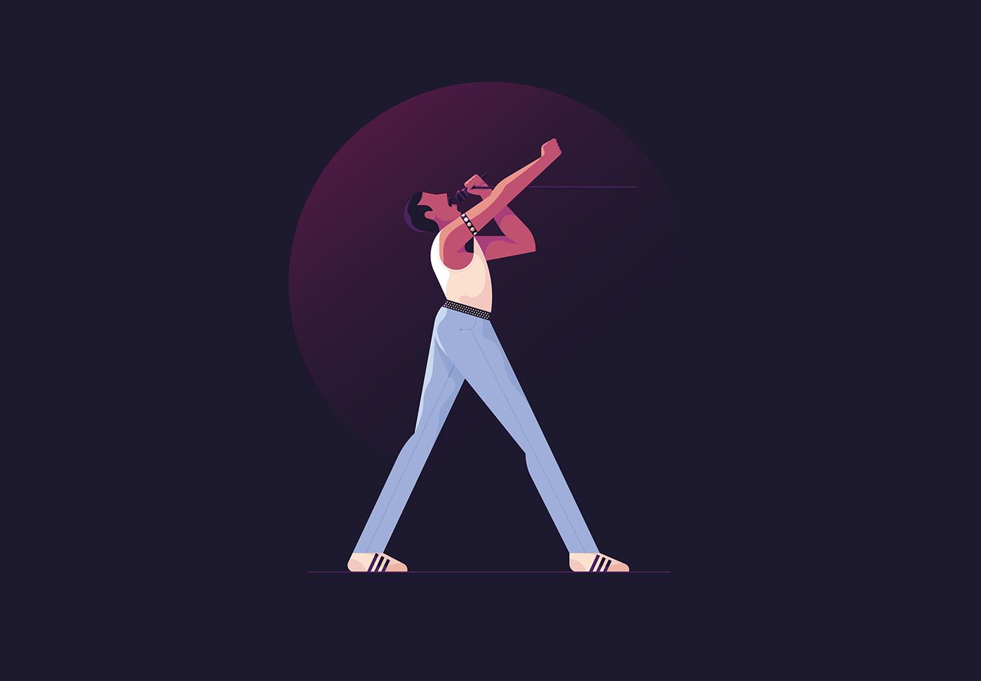 Image may contain: dance, cartoon and baseball