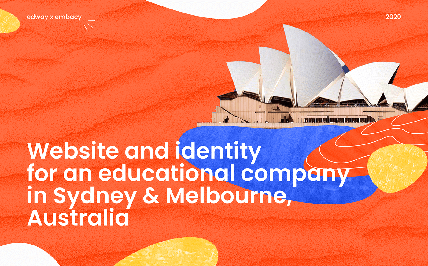 Australian courses edtech identity identity for agency Webdesign Website