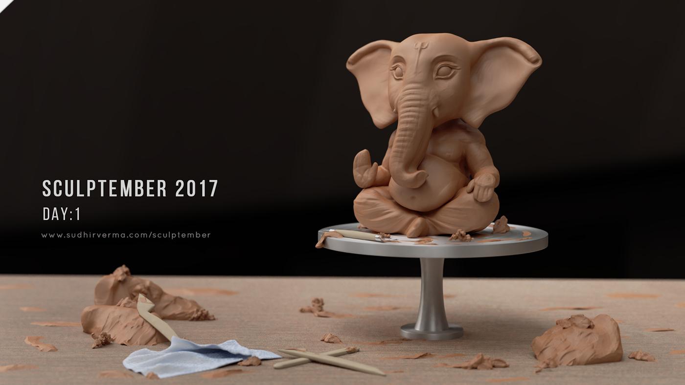 sculptember sculptember2017 Zbrush sculpting  30dayssculpting