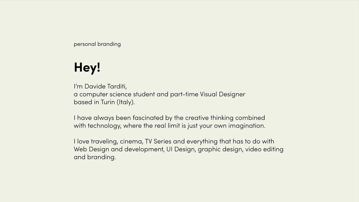 branding  design Illustrator logo personal branding photoshop self branding UI ux xD