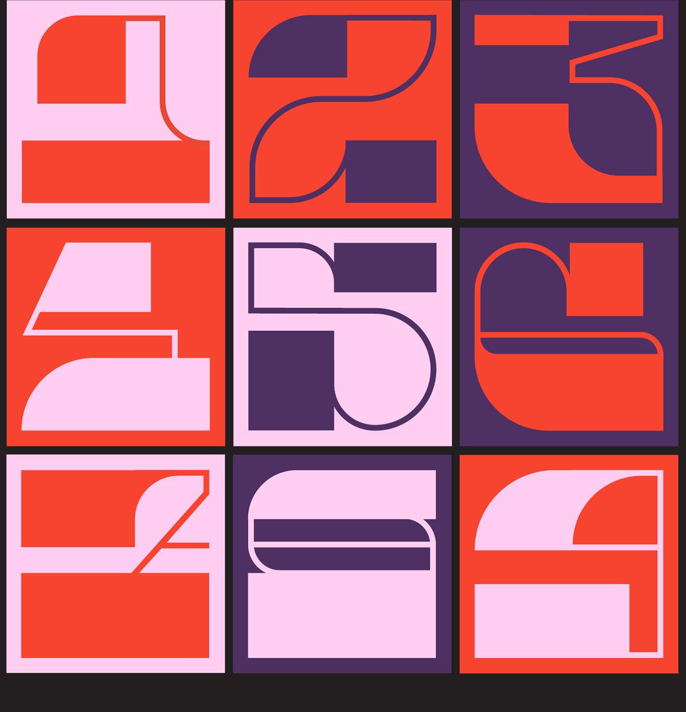 36daysoftype challenge geometric graphicdesign typo typography