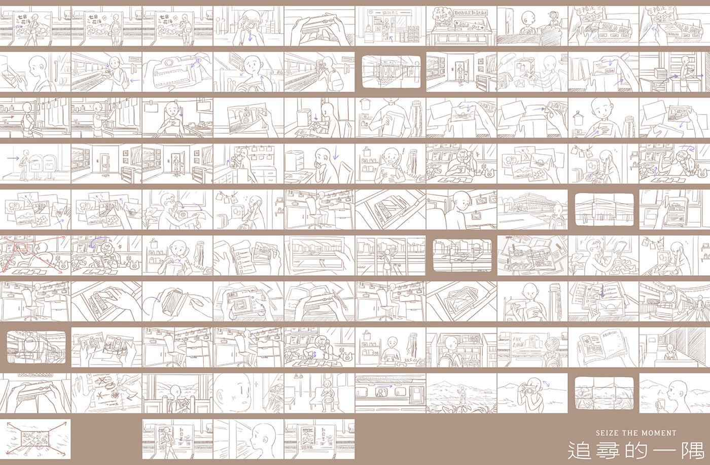 2D 80年代 動畫 台灣 底片 攝影 逐格