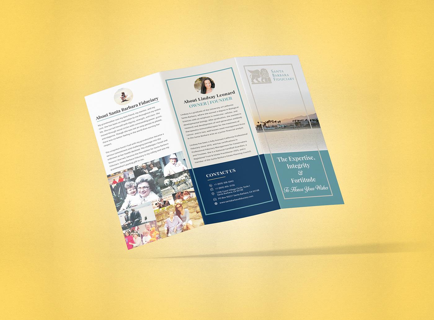 Santa Barbara Fiduciary Brochure Design on Behance