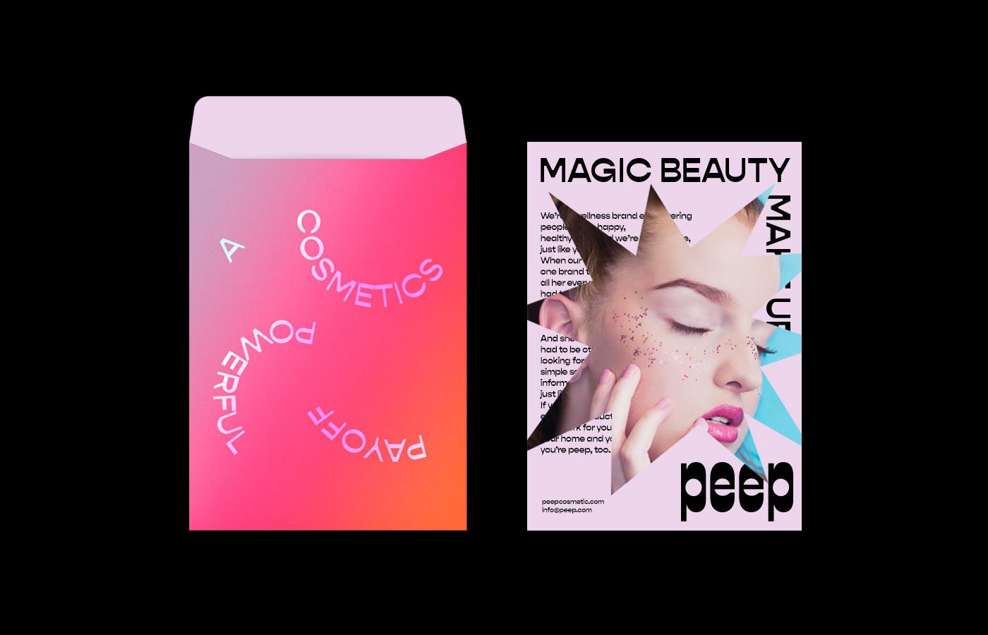 Packaging beauty design makeup Cosmetic skincare identity logo branding  Fashion