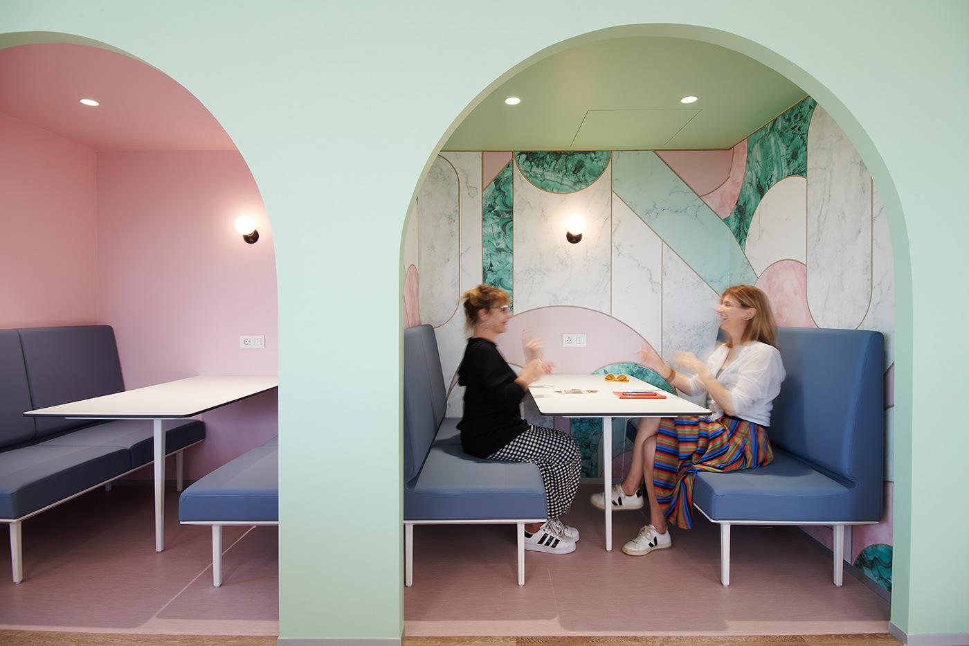 diseño espacios Oficinas shhh silence room