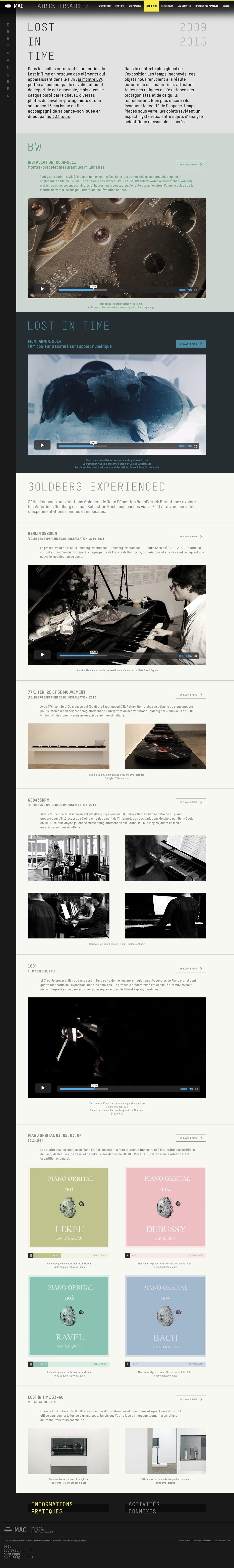 creative Web interactive art museum