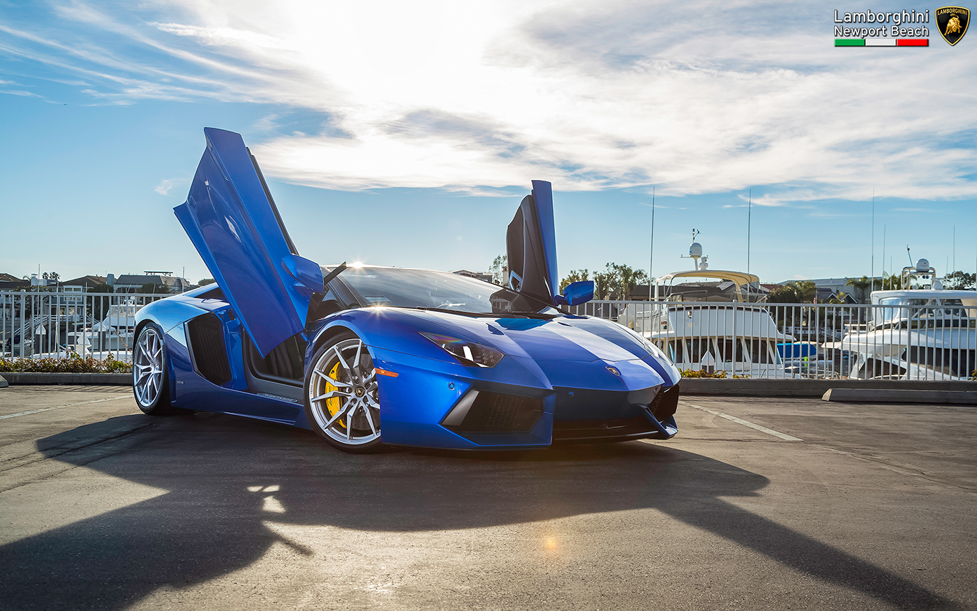 Lamborghini Aventador Lamborghini Newport Beach On Behance