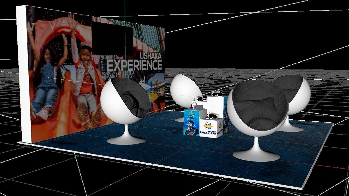 the media factory ushaka cinema 4d vray photoshop Illustrator marvelous designer aquarium activation