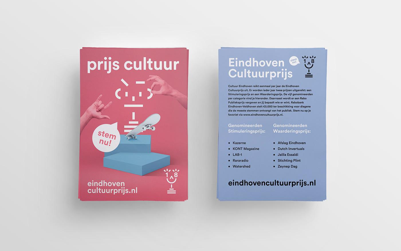 cultural cultuur eindhoven Awards digital collage Cultuurprijs poster campagne campaign