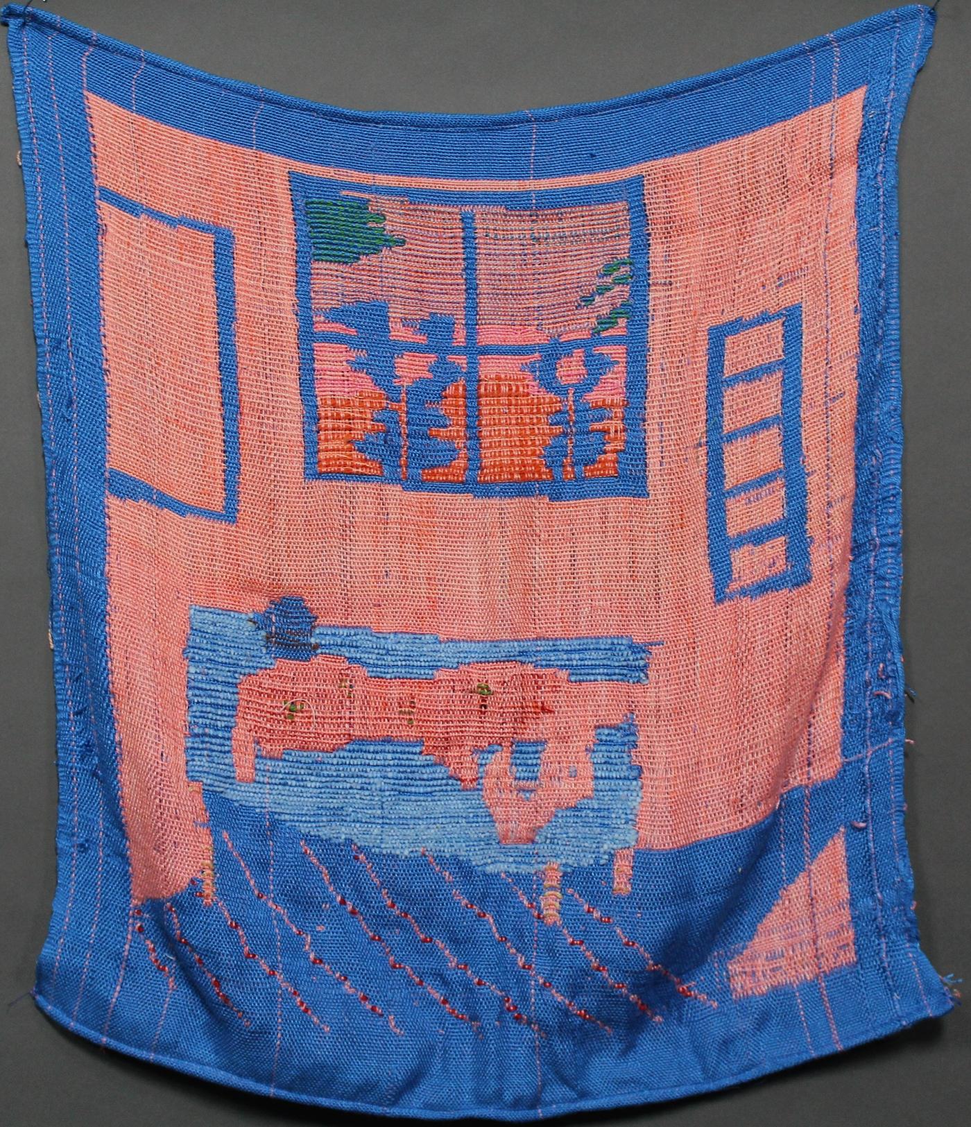 weaving loom yarn doublecloth PICKUP