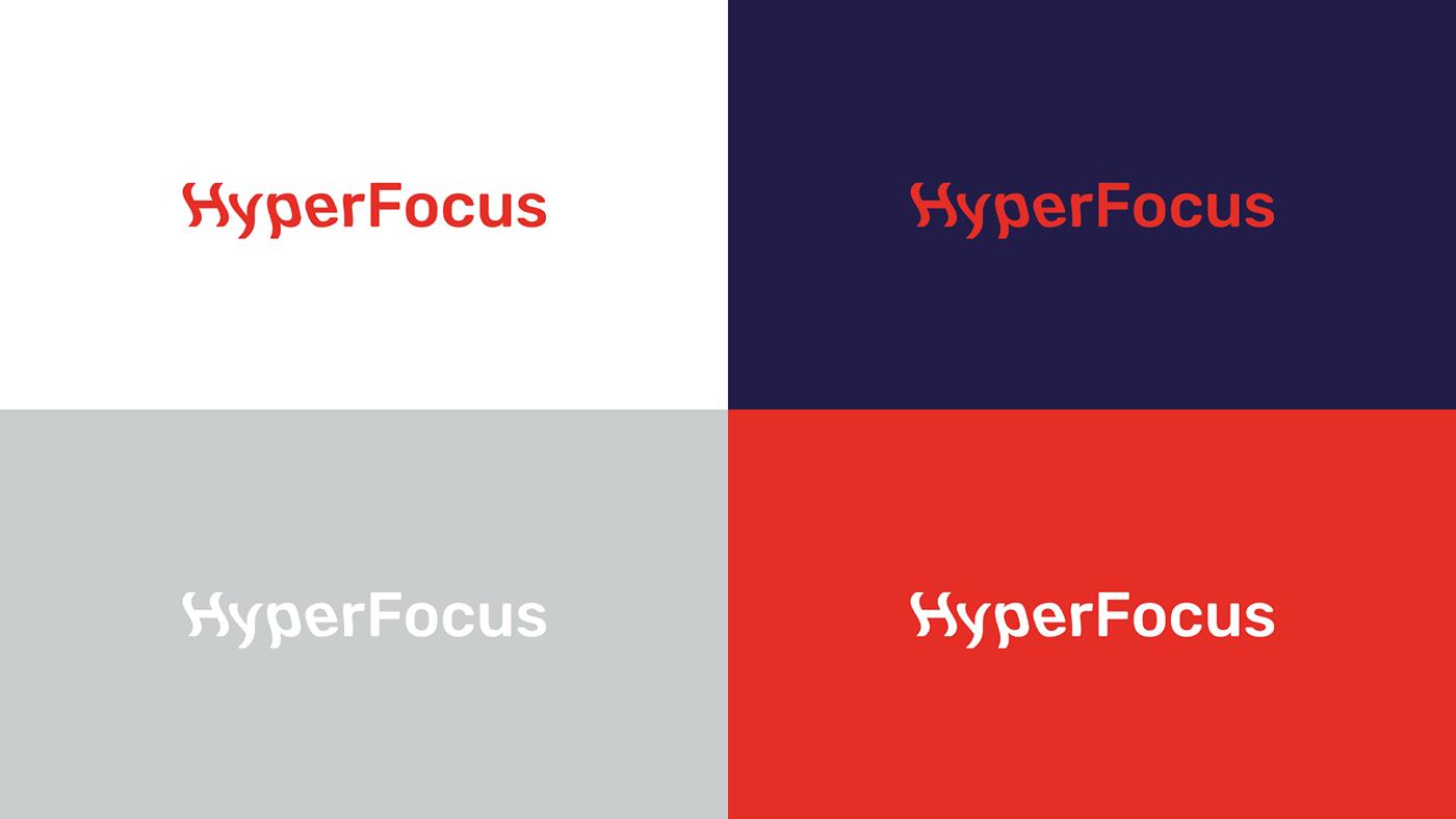 ADHD branding  mental health graphic design  adobeawards student brand identity identity typography   Logotype