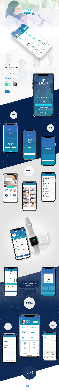 Health medicalapp healthapp Healthkit iosmobile hospitalui clinic mobileux iphonex iphoneui