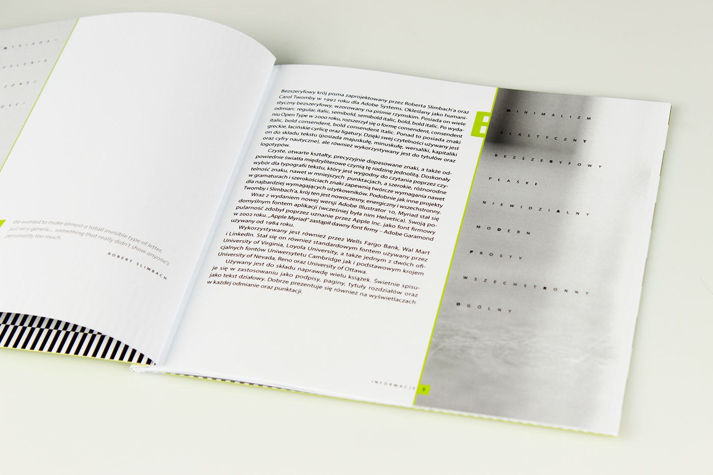 Catalogue of font Myriad Pro on Behance