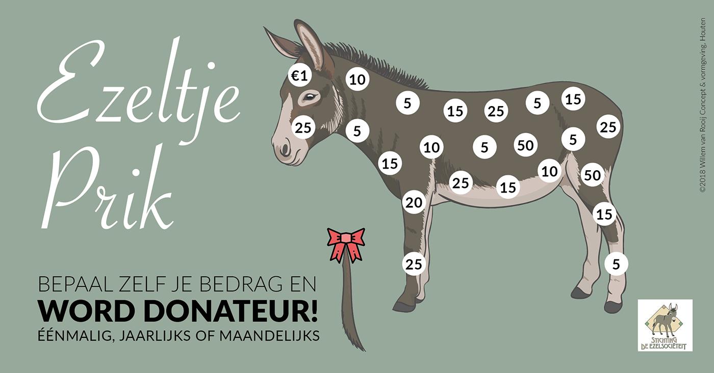 fundraising donkey social media animals sanctuary
