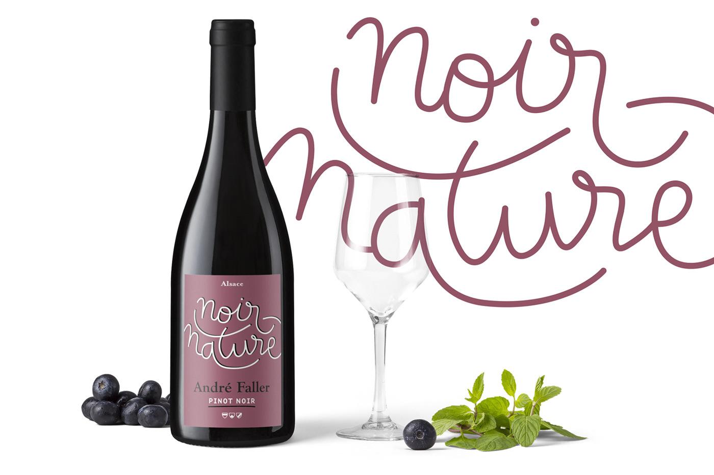 wine wine label vin etiquette Packaging graphisme design graphique papier pantone