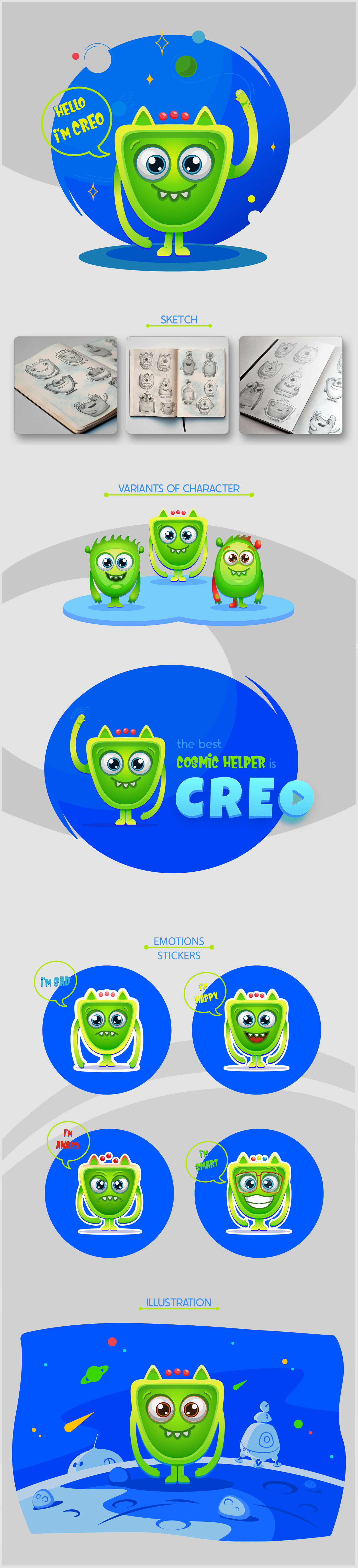 adobe illustrator brand and identity bright illustration Character design  cute character educational design emotions flat design ILLUSTRATION  STIKERS