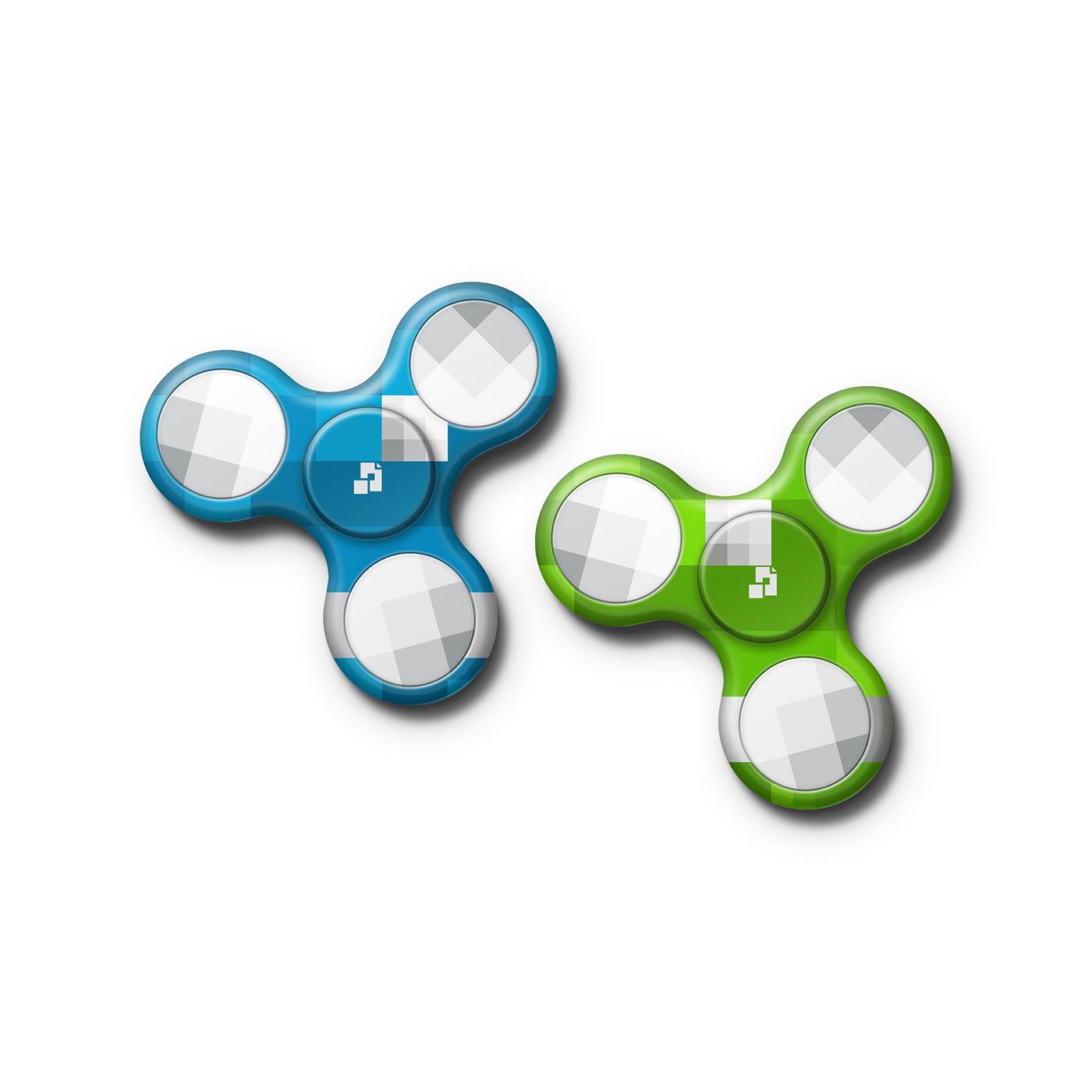 tri fidget spinner design preview template on behance