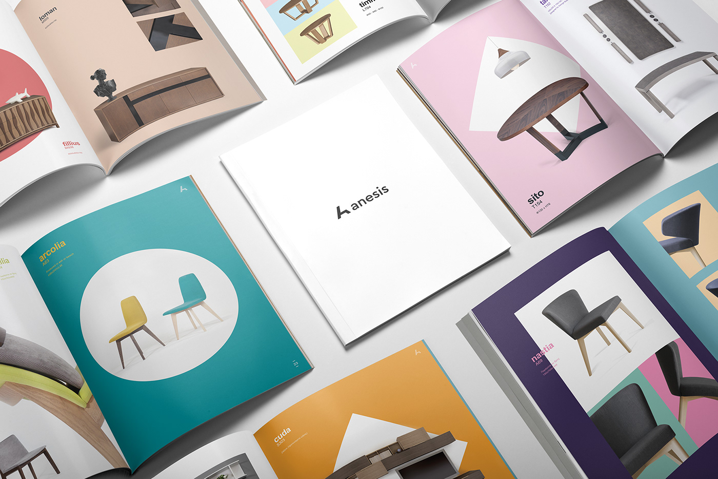stationery,book,Booklet,Catalogue,chairs,craft,furniture,monogram,tables,wood