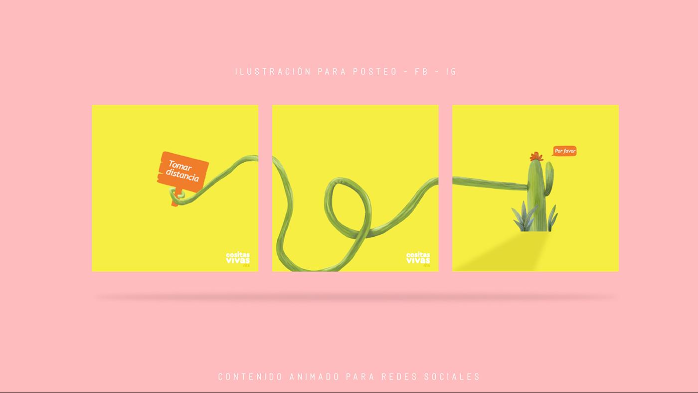 diseño ilustracion motion portafolio reel videos
