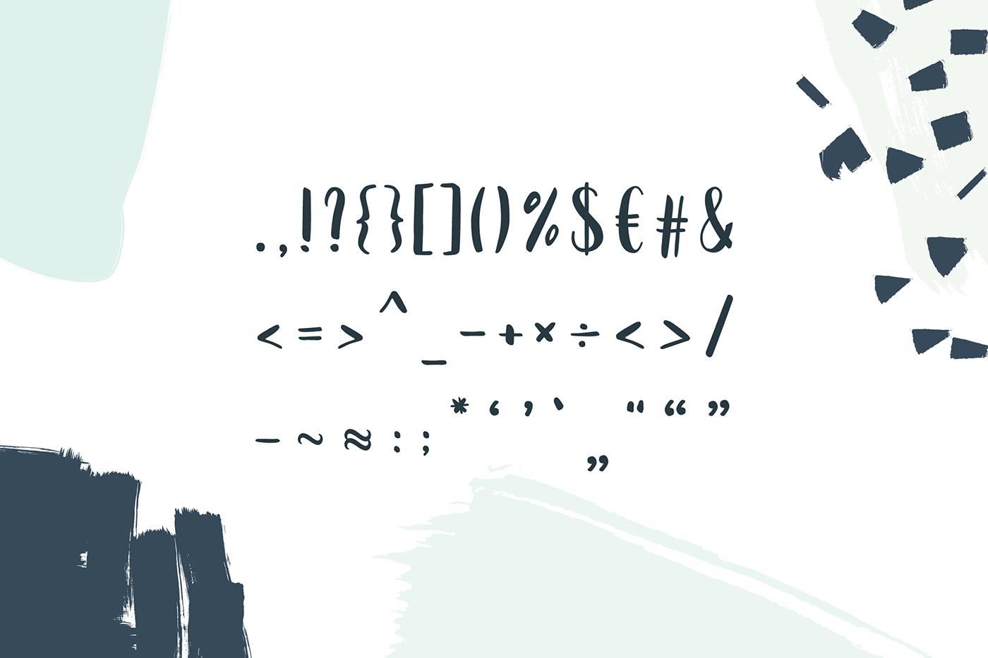 freebie free font Typeface design typography   handdrawn
