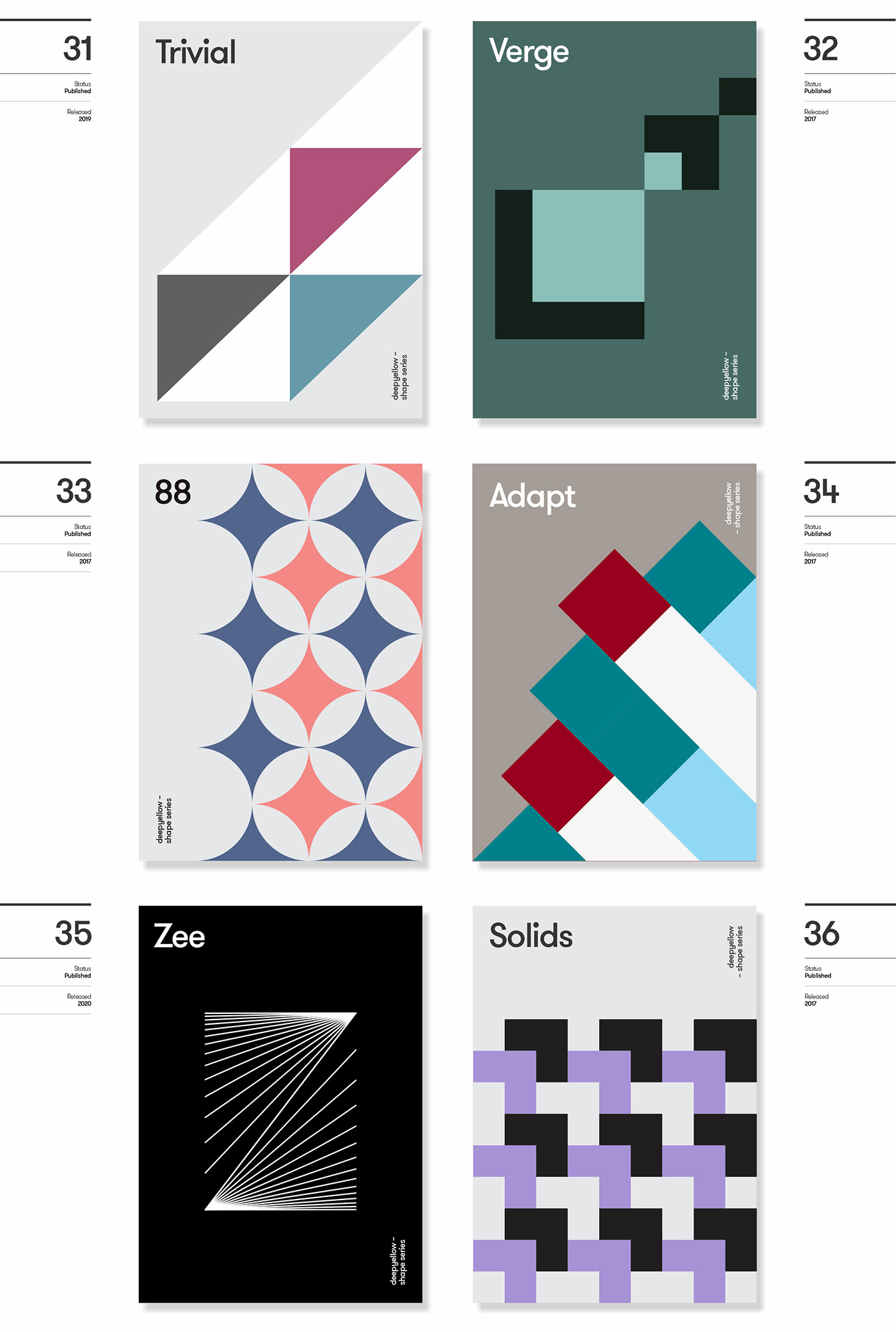 deepshape deepyellow digital graphicdesign grid Layout poster print shape vector