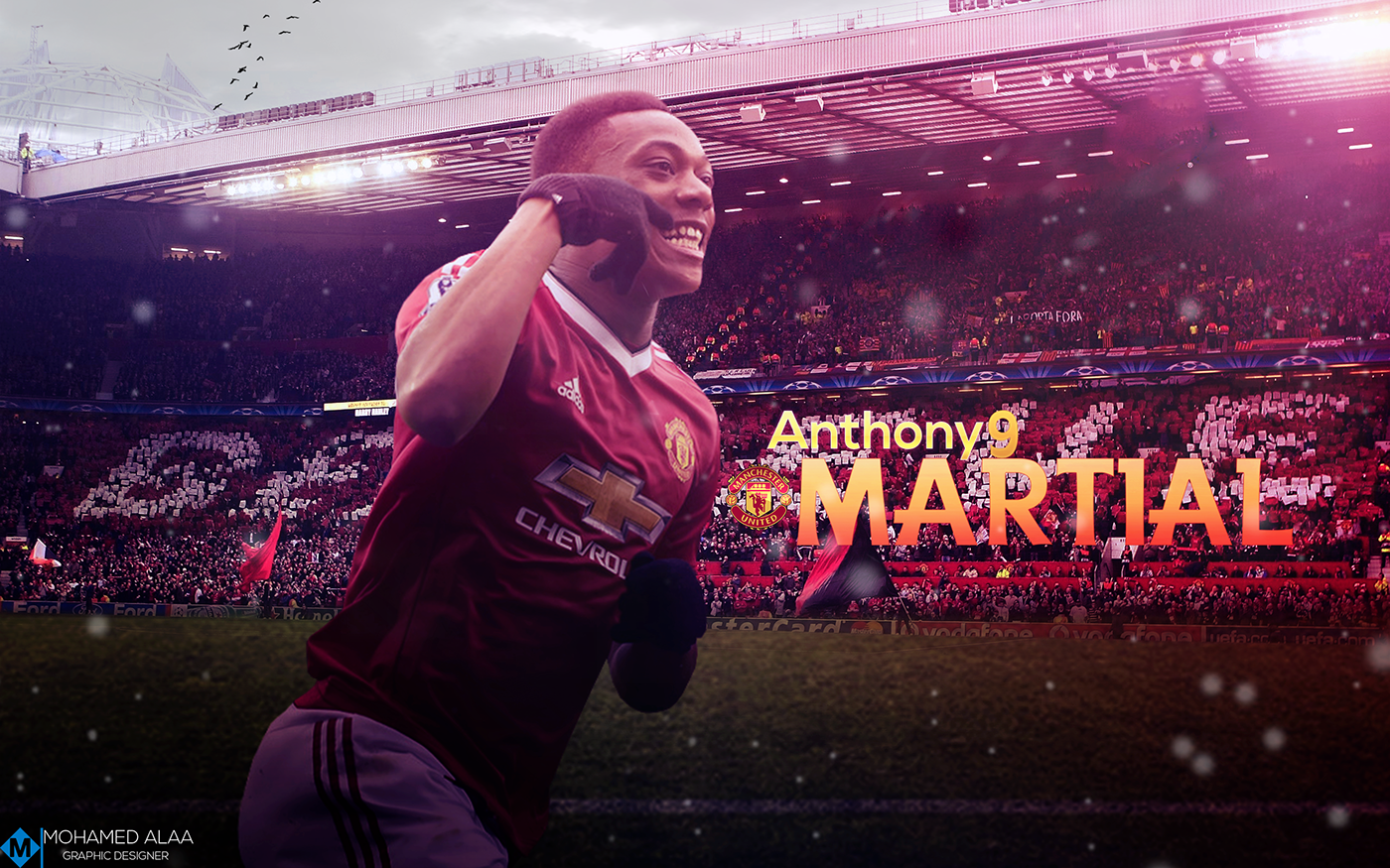 'ANTHONY MARTIAL' WALLPAPER On Behance