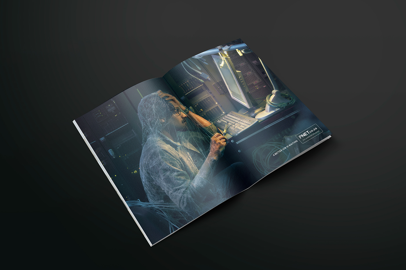 art direction  Photography  advertsising print ad Work  moss cobweb