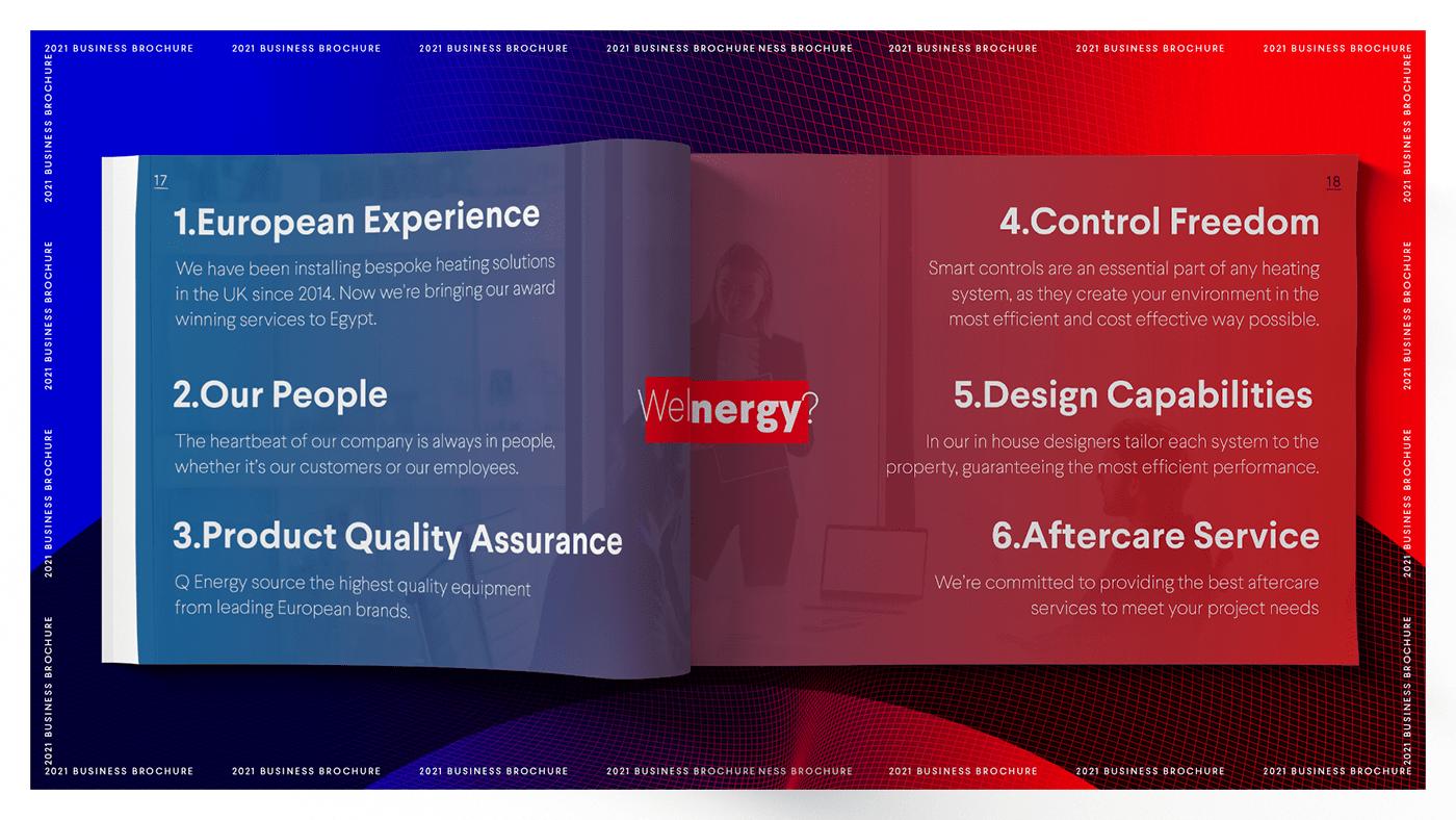 brand identity brochure business design flyer graphic design  modern print typography