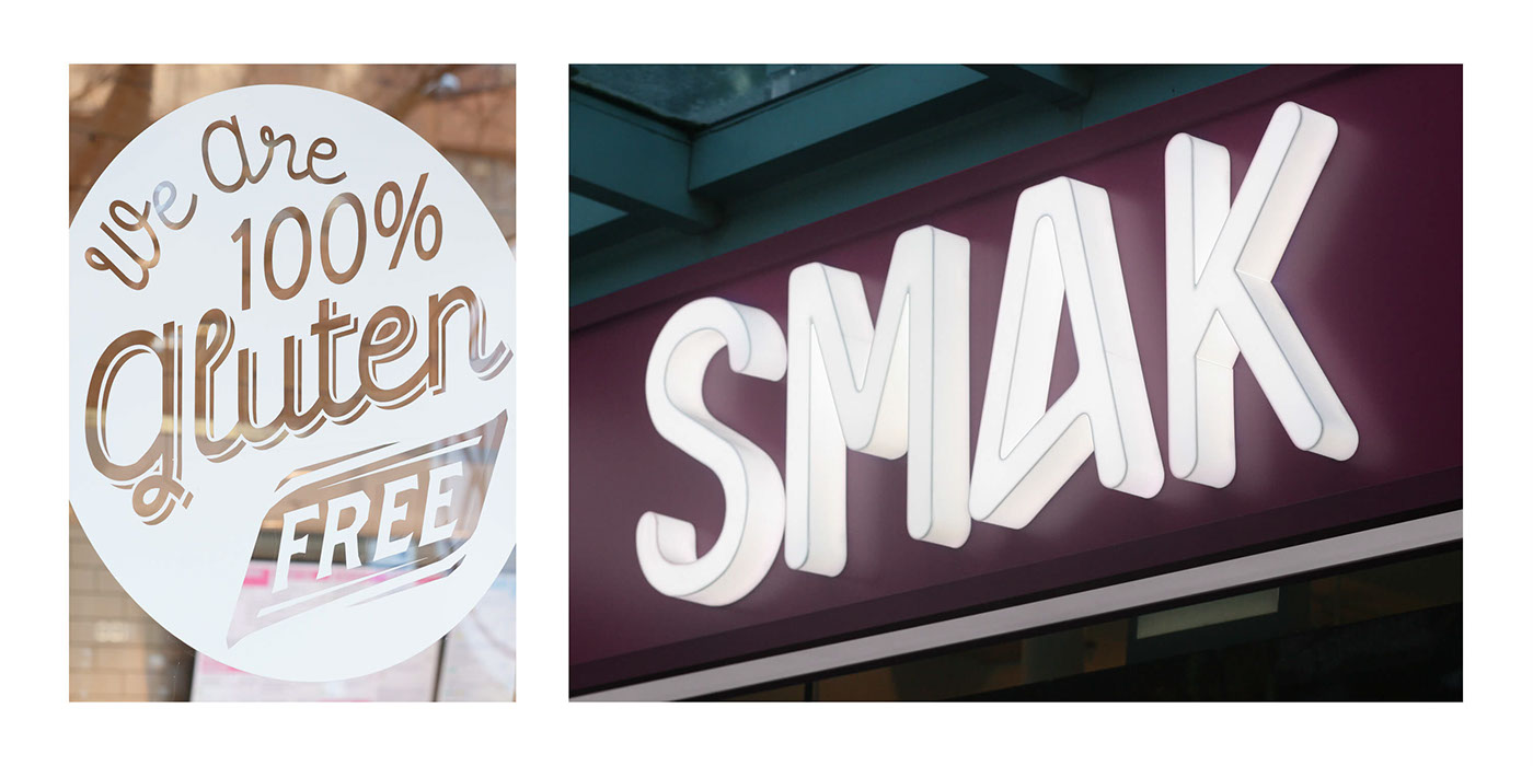 creative restaurant healthy Fast food menu gluten free SMAK