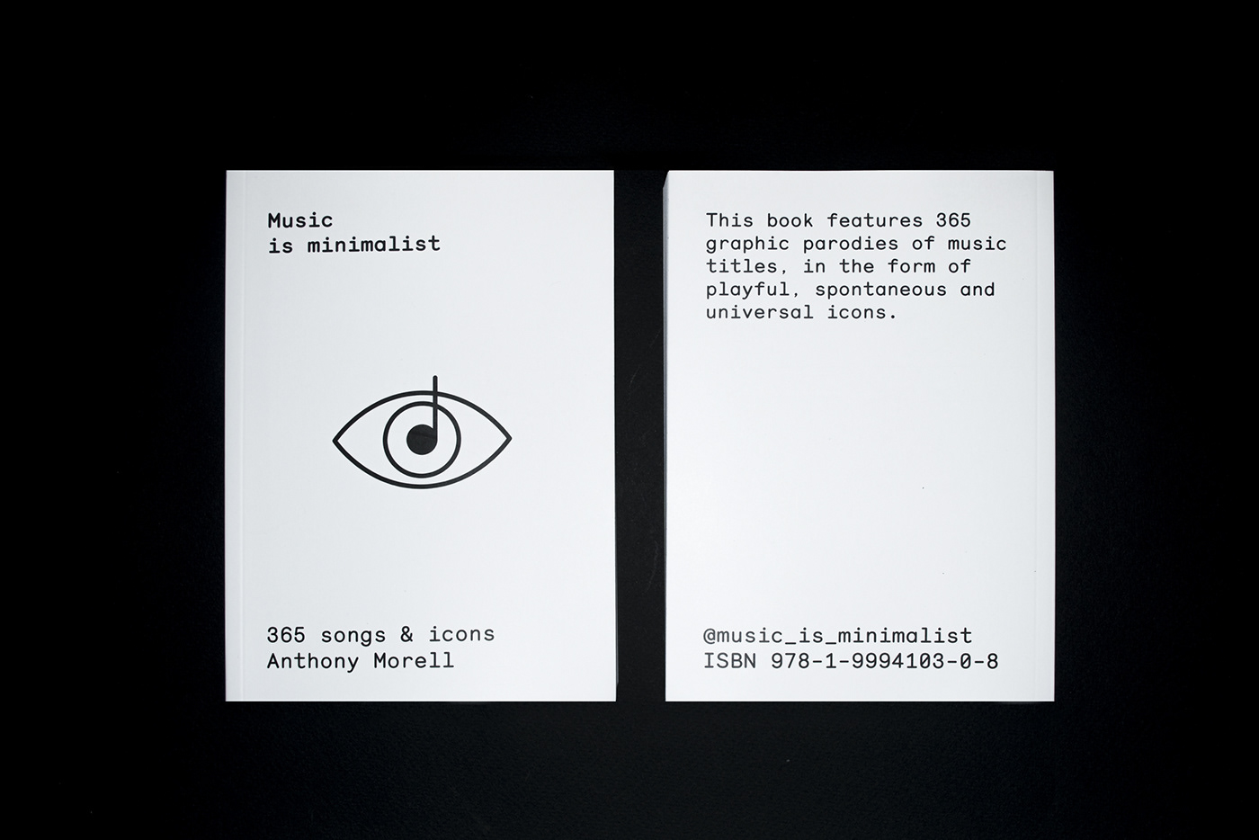 book,icons,music,minimalist,pin,editorial,Layout,design,art direction ,book design