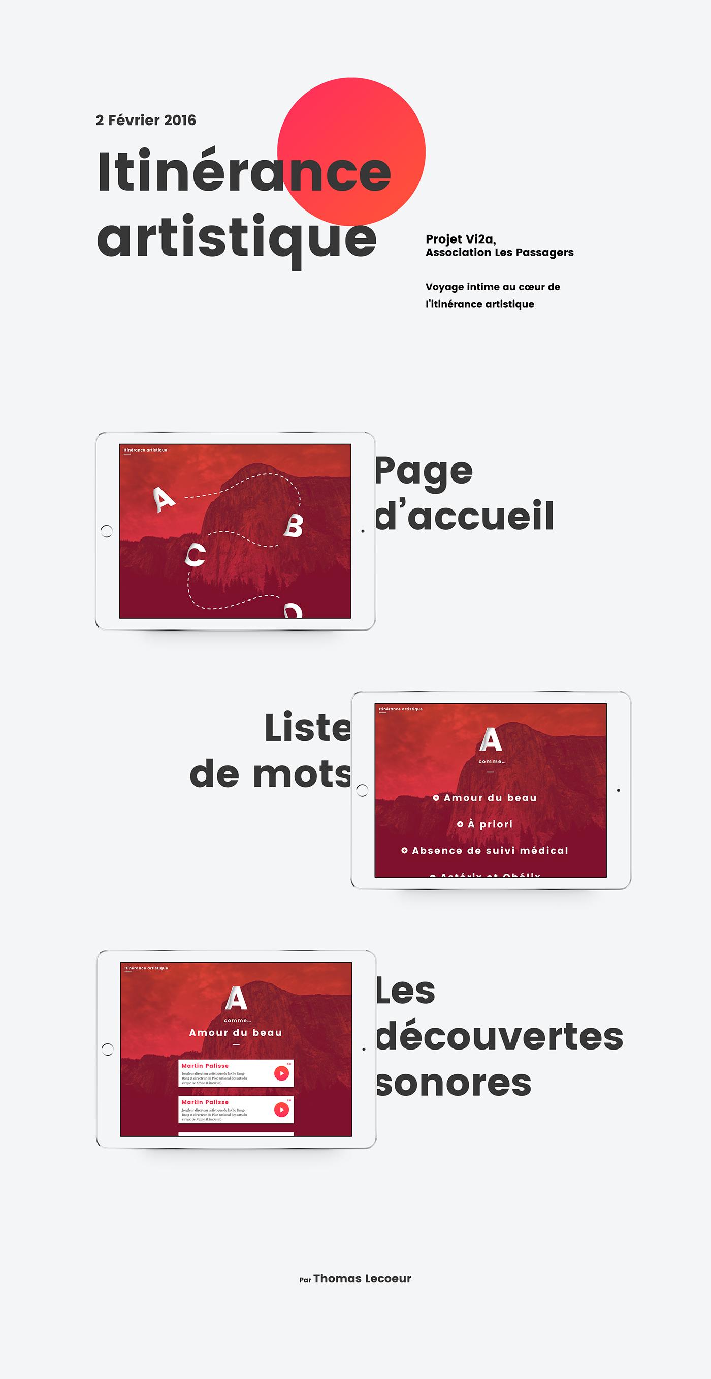 app tablet art interview Audio