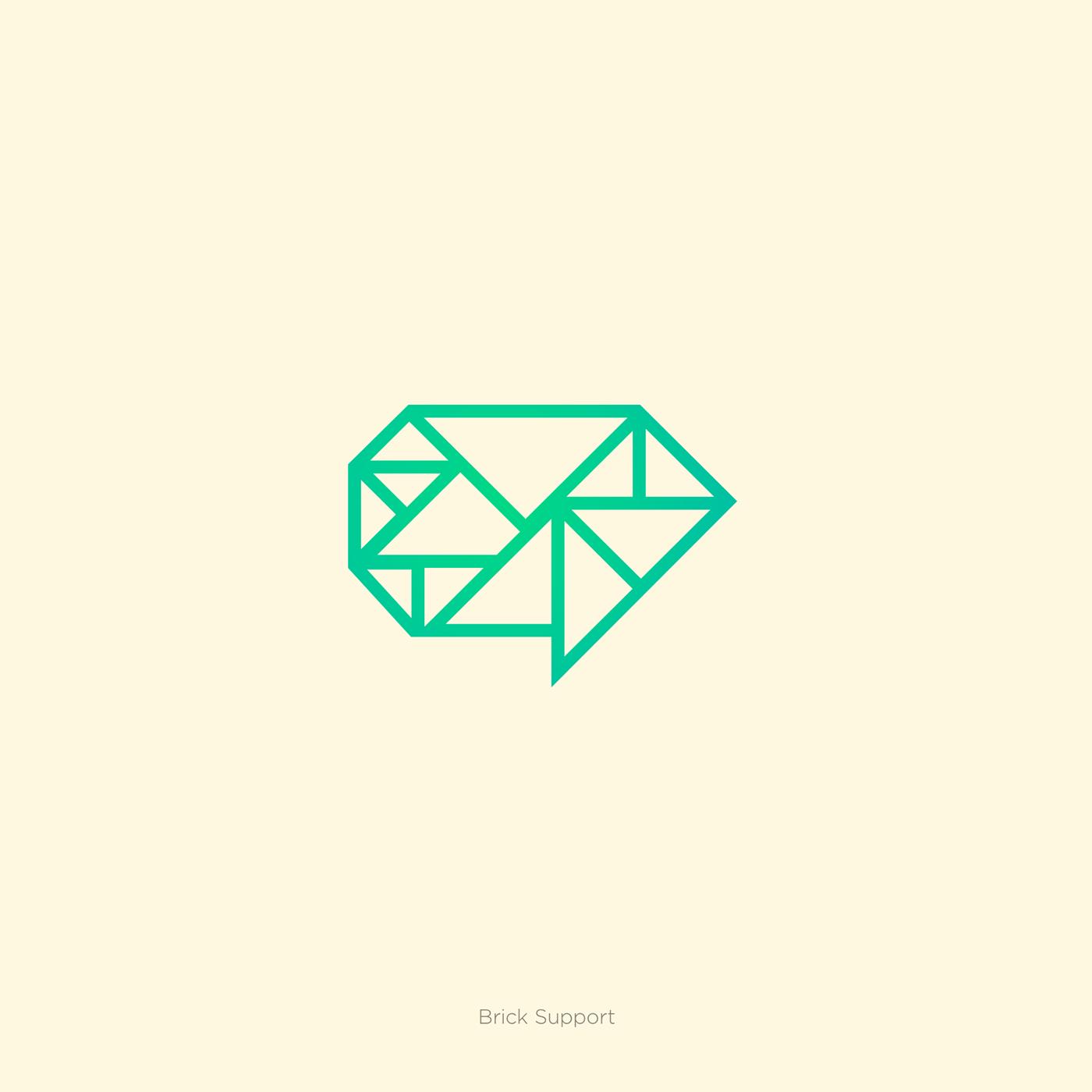 identity logo Logotype symbol brand logofolio logopack