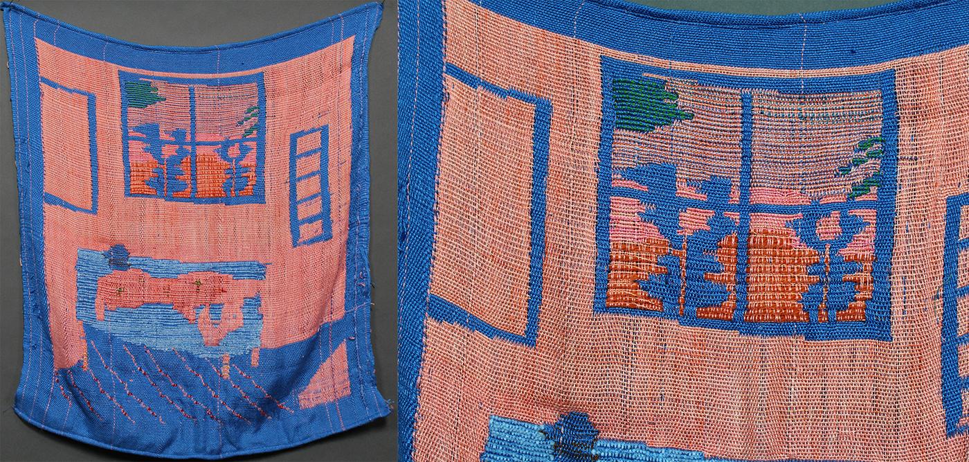 weaving Fashion  Bathing Suits Digital Printing sewing garment making. culture cuba experimental textile design