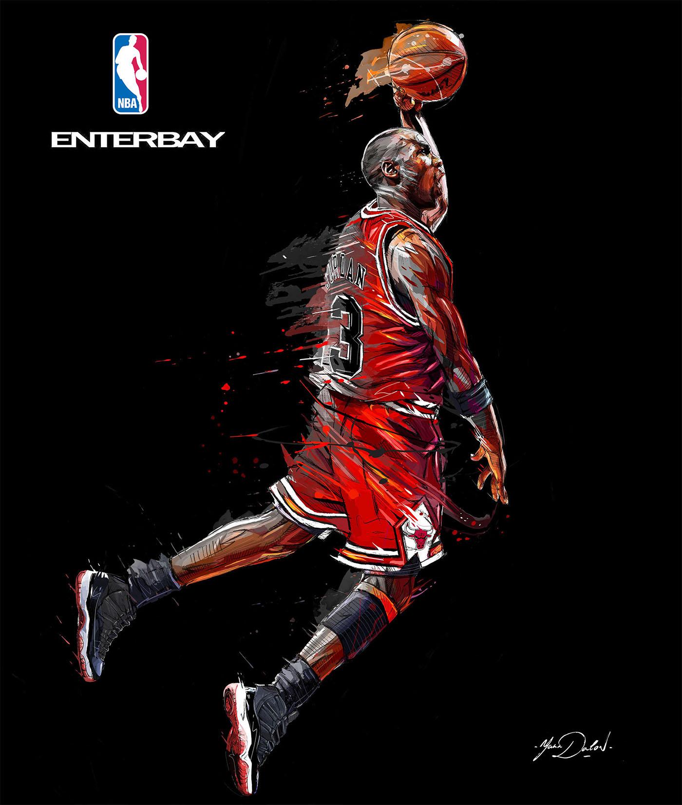 NBA/ ENTERBAY. Chicago Bulls Legends. On Behance